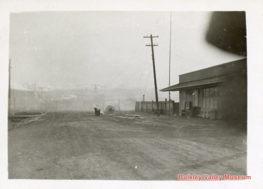 The second mystery photo. This is likely Main Street looking north.